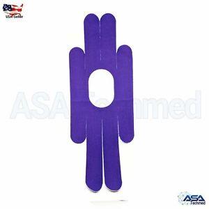 Precut Kinesiology Tape Strips - PreCut Strips Tapes 15 Pack QuickStrips