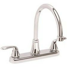Premier Waterfront Kitchen Faucet With Two Handles, 1.8 Gpm, Chrome, Lead Free*