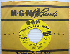 VILLETTE SISTERS yellow label promo MGM 45 I Gave Him Back His Ring ~Rainbow w73