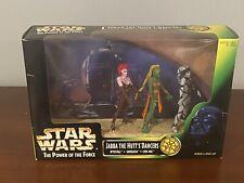 Jabba the Hutt Dancer's Cinema Scene STAR WARS 1998 Power of the Force POTF
