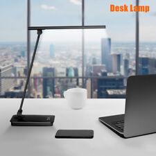 8W LED escritorio Lámpara táctil sensor cabecera lectura flexible regulable moda