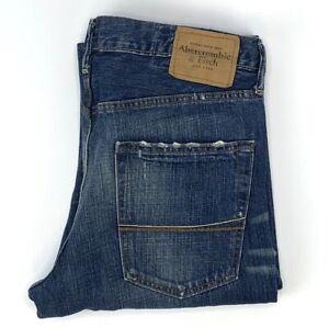 Abercrombie & Fitch Baxter Low Rise Slim Boot Jeans Men's Size W32 L30