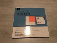 BN Hema Whiteboard Wipe Board Magnets Pen & Wiper Memo Kitchen Board 29 X 2cm