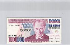 Turquie 1 000 000 Lira l1970 (1995) n° P85339215 Pick 209