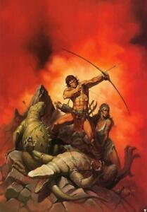 """Vintage Ken Kelly Poster """"The Archer""""  New Rolled"""