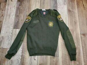 BLAUER California Dept of Corrections CDCR Vintage Sweater Gore wind Mens sz 3XL