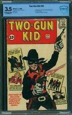 Two Gun Kid #60 CBCS 3.5 VG- 1962, Origin & 1st new Two-Gun Kid (like CGC)