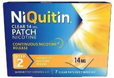 NiQuitin 24 Hour Clear Patches Step 2 14mg X7