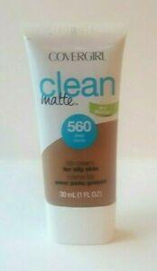 Clean Matte BB Cream For Oily Skin Oil Free Foundation ~560 Deep~ 1 fl oz NEW