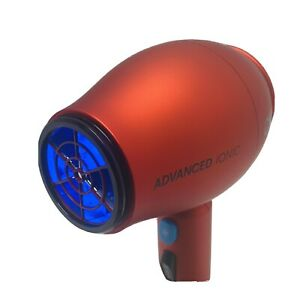 1875 Series Advanced Ionic Compact Hair Dryer in Red