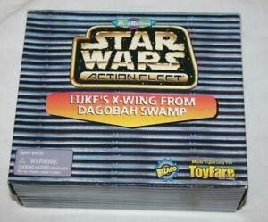 Star Wars: Action Fleet - Luke Skywalker's X-Wing 'Dagobah'  -Toyfare Exclusive