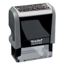 ID Protection Stamp Trodat Printy 4912 Self-Inking