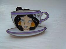 Disney's Jasmine Tea Cup Hidden Mickey 6 of 6 Pin Badge