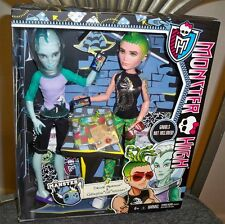 "Monster High Doll Deuce Gorgon & Gillington ""Gil"" Webber 2 Pack Male Dolls NRFB"