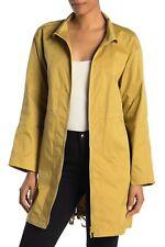 Lafayette 148 Women's Jacket Yellow Size XXL Plus Trench Minerva $698 #160
