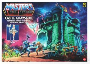 Castle Grayskull Burg Masters Of The Universe Origins Sorceress Figur Mattel