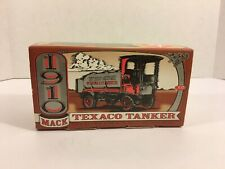 1910 Mack Texaco Tanker Collector's Series #12 Die-cast Coin Bank ERTL