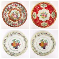 Vintage Daher Decorated Ware England Holland Floral Metal Serving Bowls Dishes