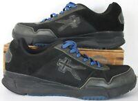KURU Men's Quantum Sneakers Black Blue 101310 Lace Up Low Top Shoes 10.5 M