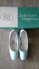 Women's POLLY PRESTON Vintage 40's Party Pumps Shoes Heel USA Sz 5 1/2 W