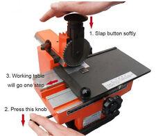 Semi-automatic embosser metal stamping printer marking machine label 4mm good