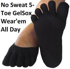 5 Toe Gel Socks Moisturizing Dry Feet Spa Therapy