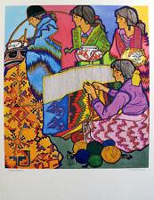 Amado Pena Celebracion Rare Hand Signed Fine Art Print SUBMIT BEST OFFER