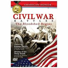 CIVIL WAR BATTLES: THE BLOODSHED BEGINS NEW DVD