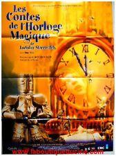 LES CONTES DE L'HORLOGE MAGIQUE Affiche Cinéma / Movie Poster