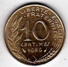 PIECE 10 CENTIMES  1989 .  MARIANNE  REPUBLIQUE FRANCAISE