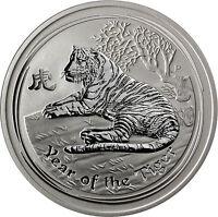 5 Oz Silber - Australien 8 Dollar 2010 Lunar II Serie: Jahr des Tiger