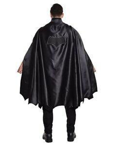 Batman Batgirl Cape - Lined - Embroidered Logo - Costume - Adult