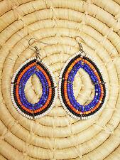New African Maasai Earrings Masai Massai Africa S/M jemo405