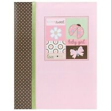 Brand New Nojo Baby Girl Record Book Ladybug Lullaby 78 Pages