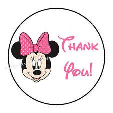 1 x Vinyl Sticker Minnie Mouse Cartoon Funny Decals Car Motorcycle Helmet B 246
