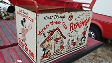 New listing Walt Disney'S Mickey Mouse Club Push'Emcar Push Em Car Toy Box Check Photos