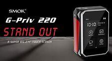 "SMOK G-PRIV 220 watt Box TouchScreen 2.2""  ( TFV8 Griffin Tsunami Goon Wismec )"
