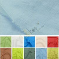 Oxford High Quality 100% Natural Cotton Linen Mix Soft Fabric Material