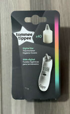 Tommee Tippee Digital Ear Thermometer Hygiene Covers X40 Count / New