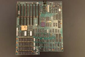 Original IBM Personal Computer/AT 5170 99 Mainboard Revision 1 mit 512kByte RAM
