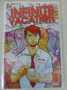 """Infinite Vacation Issue 1 """"Signed By Artist Christian Ward"""" - Spencer, Ward"""