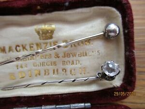 pr antique tie pins