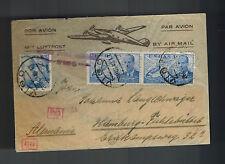 1940 Vigo Spain Censored Cover to Germany