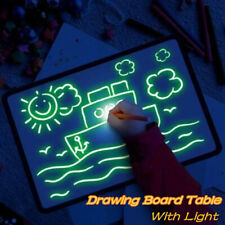 A4 Draw With Light Fun & Developing Toy Drawing Board Magic Draw Education Xmas