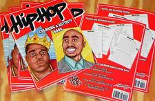 HIP-HOP Coloring & Activity BOOK. Wu-Tang ODB e-40 Mac Dre Nicki Minaj Rap Music