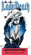 Lady Death Wicked Ways 1 Repose 75/99 sign Pulido COA FREE UK POST crystals !!
