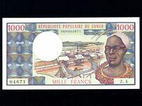 Congo:P-3c,1000 Francs,1978 * Man * AU-UNC *