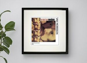 VAN MORRISON - MOONDANCE  BOX FRAMED PRINT  ARTWORK 3 Sizes Black or White