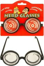 Nerd Glasses Fancy Dress Thick Lenses Kids Children Specks Geek Eye wear Fun