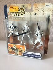 CLONE TROOPER ARMY WHITE - ARMY OF THE REPUBLIC - STAR WARS - CLONE WARS - 2003